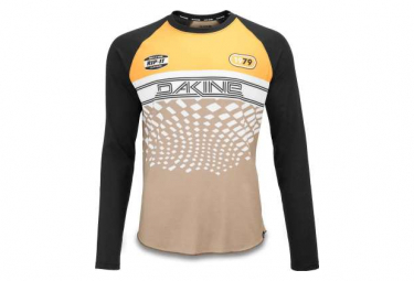 Maillot Dakine Dropout L / S Bike Golden Glow / Stingray