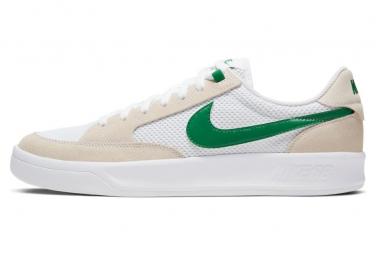 Zapatillas De Skate Nike Sb Adversary Blanco   Verde 40 1 2
