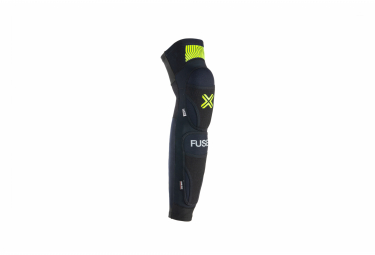 Knee pads with Tibia Fuse Omega Protections Black / Yellow
