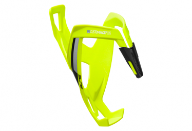 Elite Bottle Cage Prism Carbon Sinistra Grafica Bianca