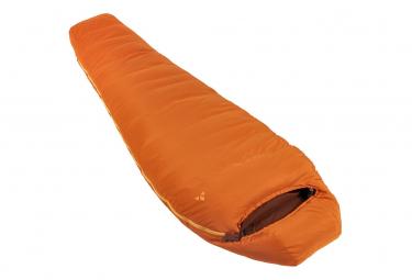 Saco De Dormir Vaude Marwees 700 Dwn Orange Left Zip