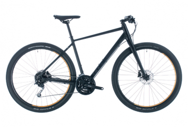 Cube Hyde City Bike 700mm Noir / Jaune
