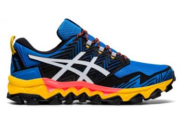 Zapatillas Asics Gel FujiTrabuco 8 para Hombre Azul / Amarillo