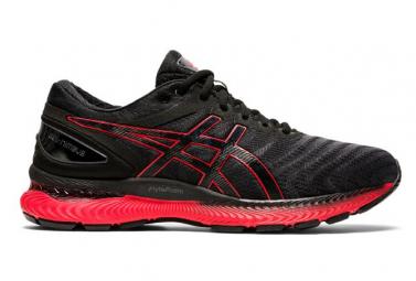 Chaussures de Running Asics Gel Nimbus 22 Noir / Rouge