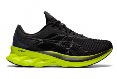 Asics Novablast Black Green Men