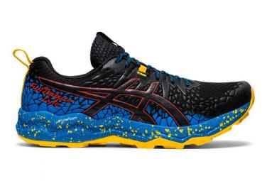 Chaussures de Trail Asics FujiTrabuco Lyte Bleu / Noir / Jaune