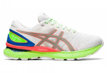 Chaussures de Running Asics Nimbus 22 Blanc / Multi-couleur