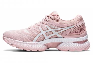 Chaussures de Running Femme Asics Gel Nimbus 22 Rose