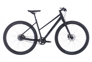 CubeHyde Pro Womens City Bike  Noir