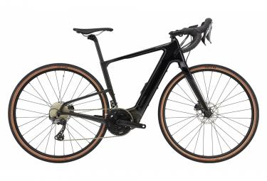 Gravel Bike Électrique Cannondale Topstone Neo Carbon 2 Shimano GRX 11V 2021 Noir