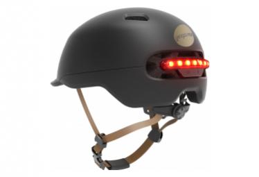 Image of Casque led yeep me h 60 avec feu de route et feu de stop l xl 58 61 cm