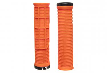Puños Lizard Skins Machine  - orange black