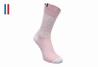Pair of LeBram Aspin Pink Socks