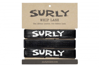 Surly Whip Lash Gear Straps negro
