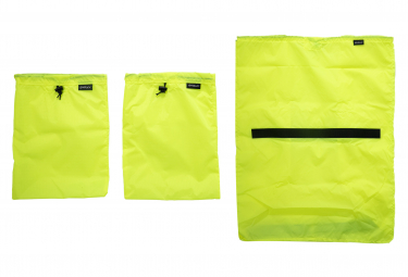 Surly Porteur House Liners Bags Juego De 3 Neon Yellow