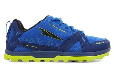 Chaussures Enfant Altra Lone Peak Bleu / Jaune