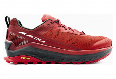 Chaussures de Running Altra Olympus 4 Rouge Homme