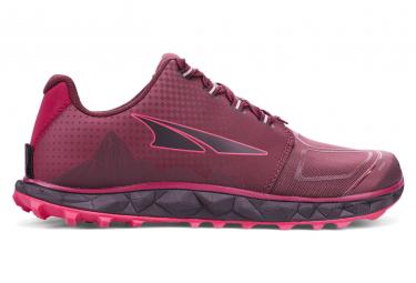 Chaussures de Trail Femme Altra Superior 4.5 Rose / Noir