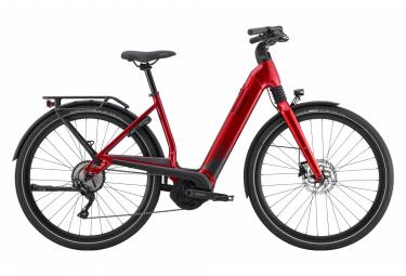 Bicicleta Electrica Urbana Cannondale Mavaro Neo 5 700c   Shimano Deore 10v   Rojo   L   180 200 Cm