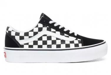 Sneaker Vans Zapatos Vans Old Skool Platform Checkerboard para mujer