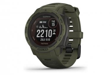 Orologio GPS Garmin Instinct Solar - Tactical Edition verde muschio