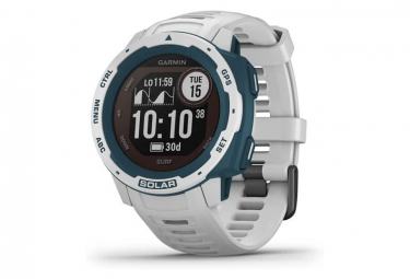 Orologio GPS Garmin Instinct Solar - Surf Edition Cloudbreak bianco
