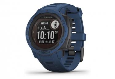 Garmin Instinct Solar GPS Uhr Tidal Blue