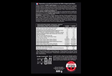 Boisson Énergétique Overstims Hydrixir Longue Distance Thé Pêche 600g