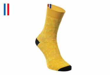 Paar LeBram Loze Yellow Socken