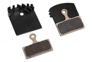 Ordentliche Shimano XTR / XT / SLX / Deore Bremsbeläge mit Kühlerflosse