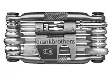 Crankbrothers M17 Multi-Tools 17 Funktionen Nickel