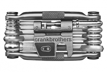 Multi-Outils Crankbrothers M17 17 Fonctions Nickel