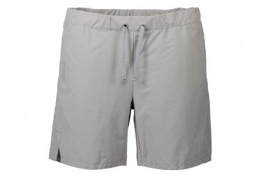 POC Transcend Shorts Aluminium Grau Frauen