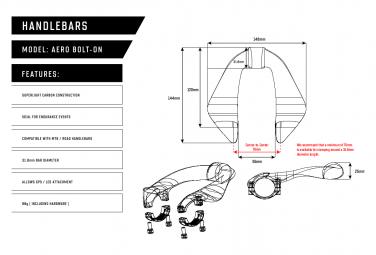 Farr Carbon Aero Bolt-On V2 Aero Add-On Oil Slick Paint