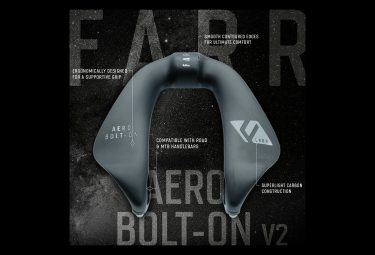 Farr Carbon Aero Bolt-On V2 Aero Add-On Matte Carbon Finish