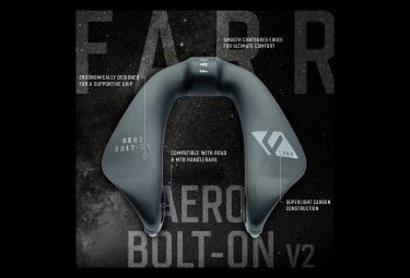 Module Aéro Farr Carbon Aero Bolt-On V2 Noir Carbone Mat