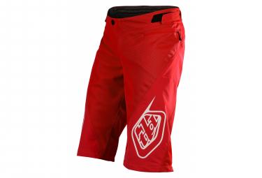 Troy Lee Designs Sprint Red Shorts para niños