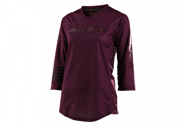 Maillot Troy Lee Designs Mischief Deep Fig 3/4 para mujer