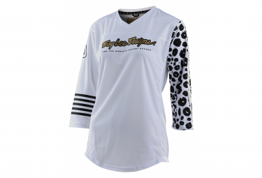 Troy Lee Designs Travesura Leopard / White Maches 3/4 Jersey