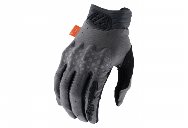 Long Gloves Troy Lee Designs Charcoal / Gray