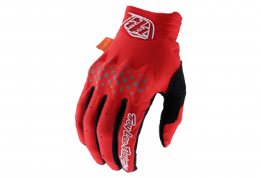 Guantes Largos Troy Lee Designs Red S