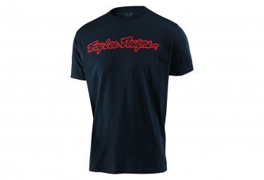 Troy Lee Designs Signature Navy T-Shirt