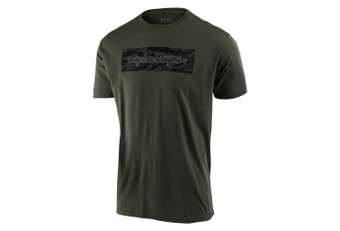T-Shirt Troy Lee Designs Signature Surplus Vert