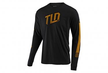 Black Trackside Long Sleeve T-Shirt