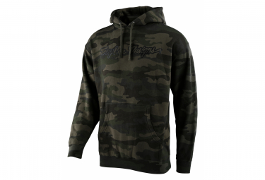 Troy Lee Designs Signature Forest / Camo Hoodie