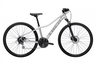 TrekDual Sport 2 WSD Womens City Bike  Argent