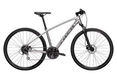 Trek Dual Sport 2 Sports City Bike 700mm Argent