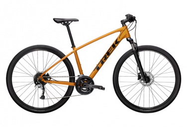 Vélo de Ville Fitness Trek Dual Sport 3 Shimano Acera 9V Orange 2021