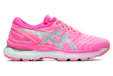 Laufschuhe Asics Gel Nimbus 22 Pink Woman