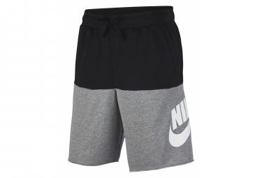 Short Nike Sportswear Alumni Noir Gris